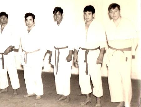 Campeones Fase Sector Cpto España Junior ( Dcha: Ocaña, Zenón, Paco, Ricardo y Rondón)